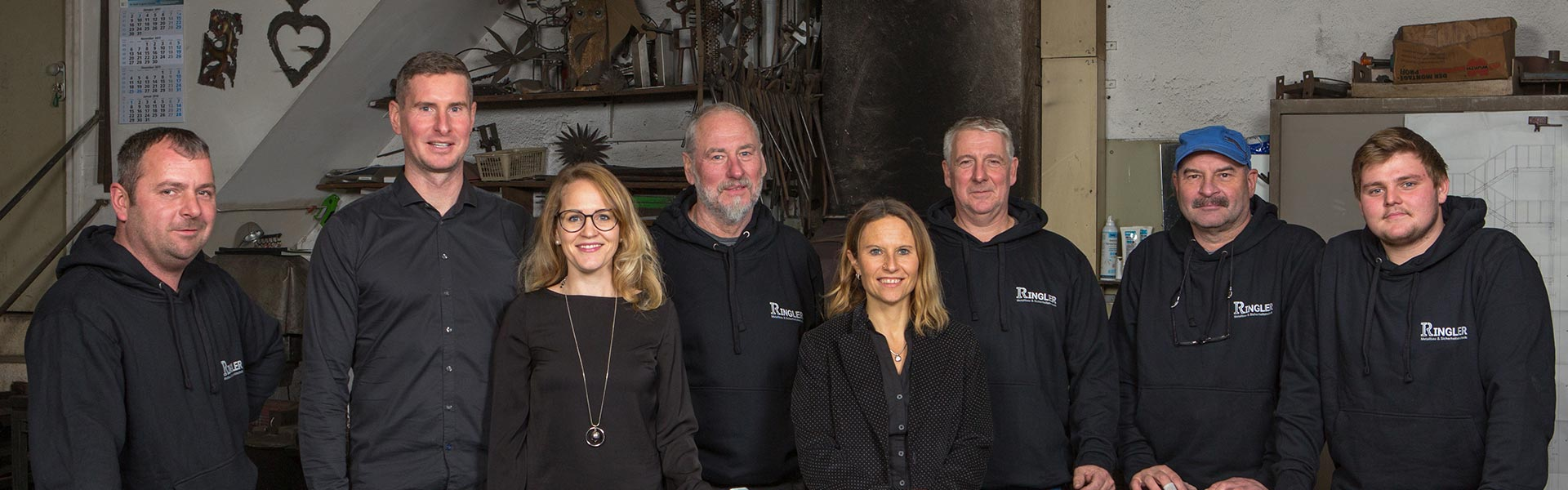 Team von Ringler Metallbau in Ansbach
