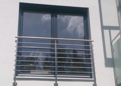 Moderner französischer Balkon
