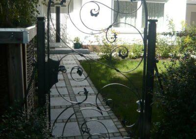 Gartentuer von Ringler Metallbau