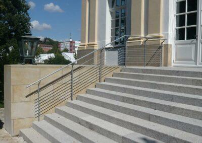 Einfaches modernes Geländer von Ringler Metallbau