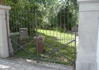 Hoftor von Ringler Metallbau in Ansbach