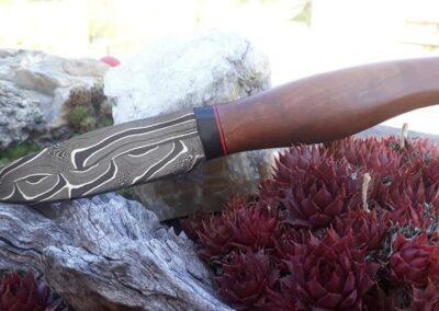 Schmiedemesser mit schöner Klinge von Ringler Metallbau