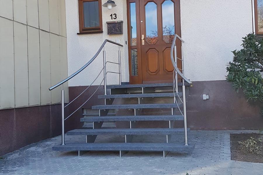 Treppe von Ringler Metallbau