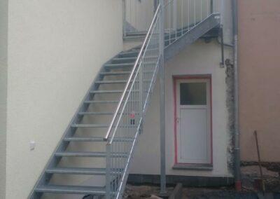 Eisentreppe von Metallbau Ringler