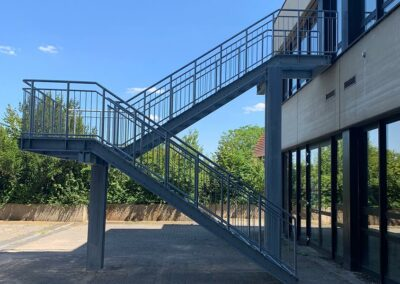 Außentreppe von Ringler Metallbau