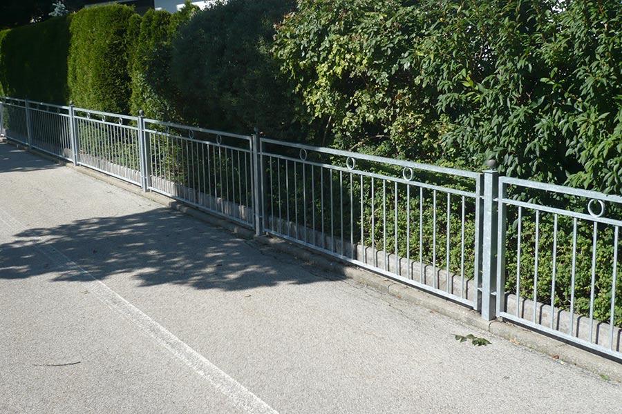 Zaun von Ringler Metallbau